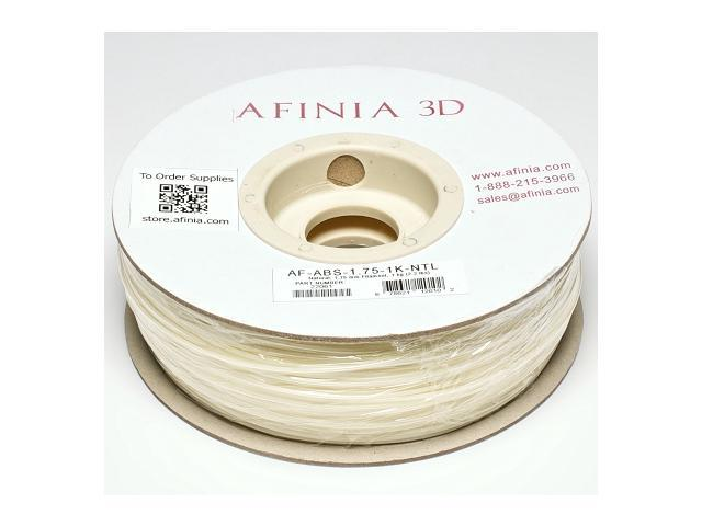 AFINIA Value-Line Natural ABS Filament for 3D Printers - OEM