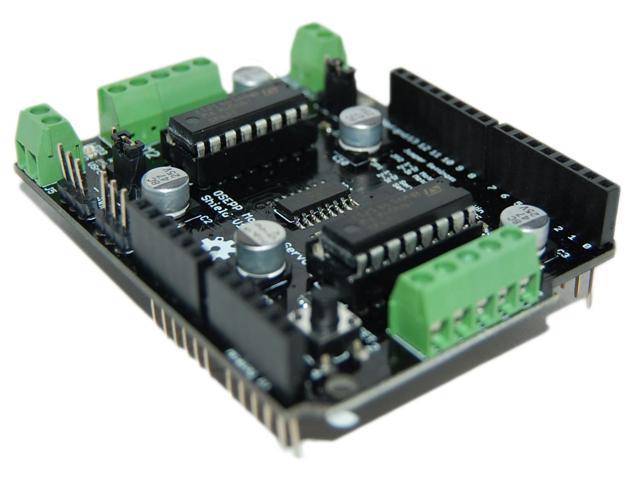 Osepp Arduino Compatible Motor And Servo Shield Newegg Ca