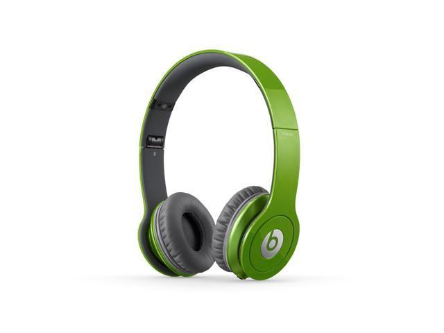 Beats Solo HD On-Ear Headphones (Sour Apple)
