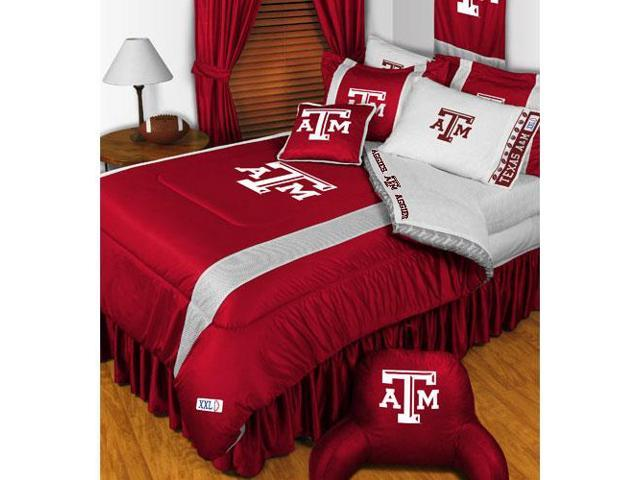 NCAA Texas AM Aggies College Team 4pc Twin Bedding Set