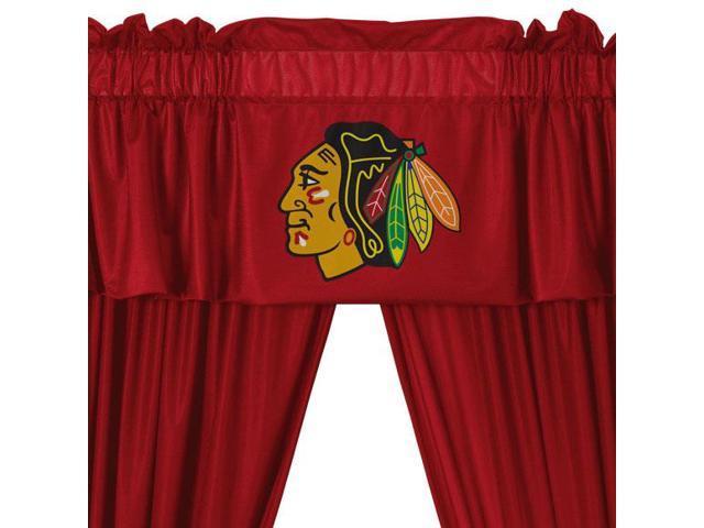 NHL Chicago Blackhawks 5pc Window Drapes Valance Set - Newegg.com