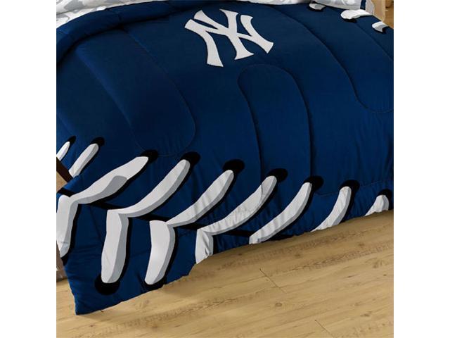 3pc MLB New York Yankees NY Twin Full Bed Comforter Set
