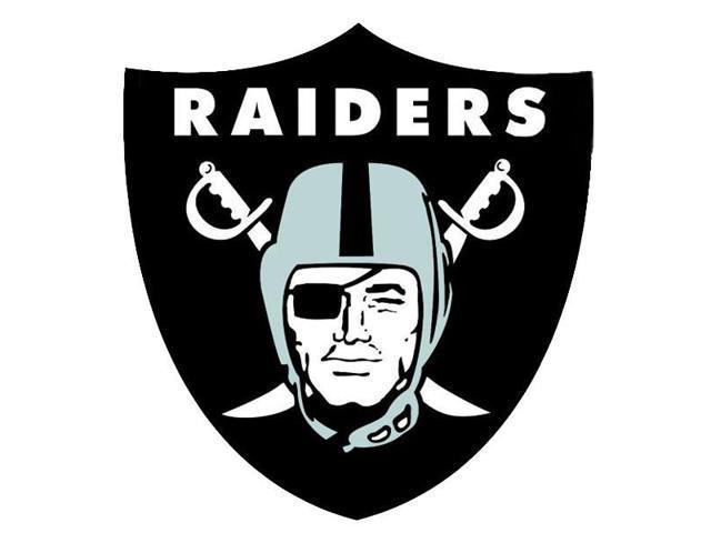 nfl oakland raiders teammate logo wall sticker decal