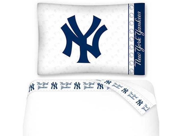 MLB New York Yankees Baseball Twin Bed Sheet Set