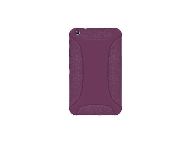 AMZER SILICONE SOFT JELLY SKIN FIT CASE COVER FOR SAMSUNG GALAXY TAB 3 8.0 SM-T310/ SM-T3100/ SM-T315 - PURPLE