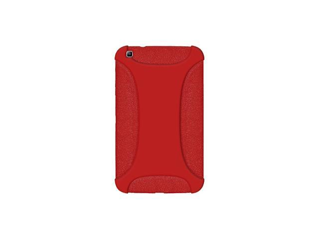 AMZER SILICONE SOFT JELLY SKIN FIT CASE COVER FOR SAMSUNG GALAXY TAB 3 8.0 SM-T310/ SM-T3100/ SM-T315 - RED