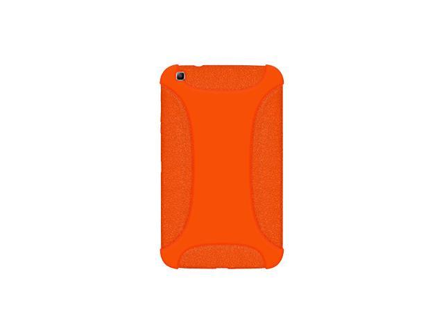 AMZER SILICONE SOFT JELLY SKIN FIT CASE COVER FOR SAMSUNG GALAXY TAB 3 8.0 SM-T310/ SM-T3100/ SM-T315 - ORANGE