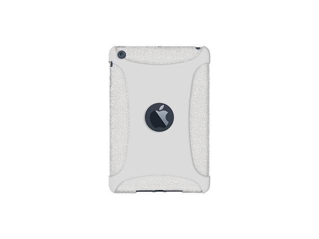 Amzer Silicone Skin Fit Jelly Case Cover For for Apple iPad mini - Solid White