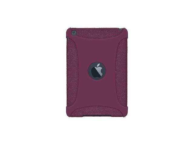Amzer Silicone Skin Fit Jelly Case Cover For for Apple iPad mini - Purple