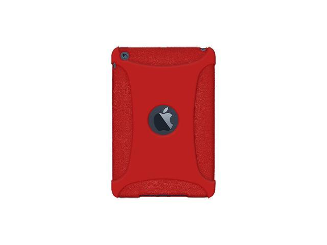 Amzer Silicone Skin Fit Jelly Case Cover For for Apple iPad mini - Red