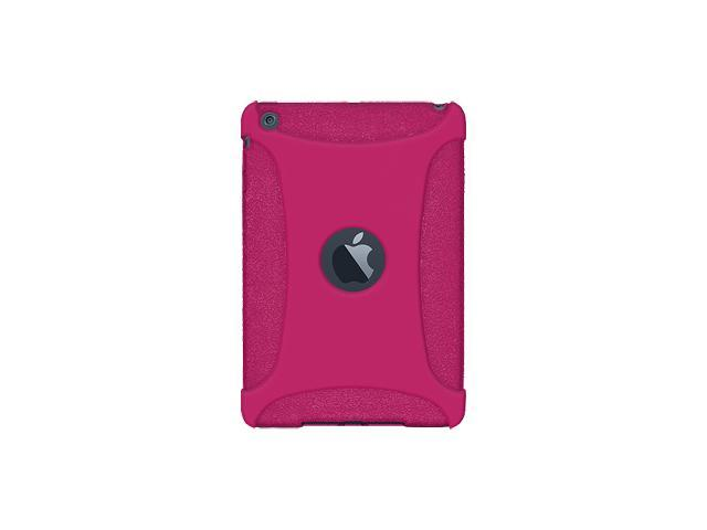 Amzer Silicone Skin Fit Jelly Case Cover For for Apple iPad mini - Hot Pink