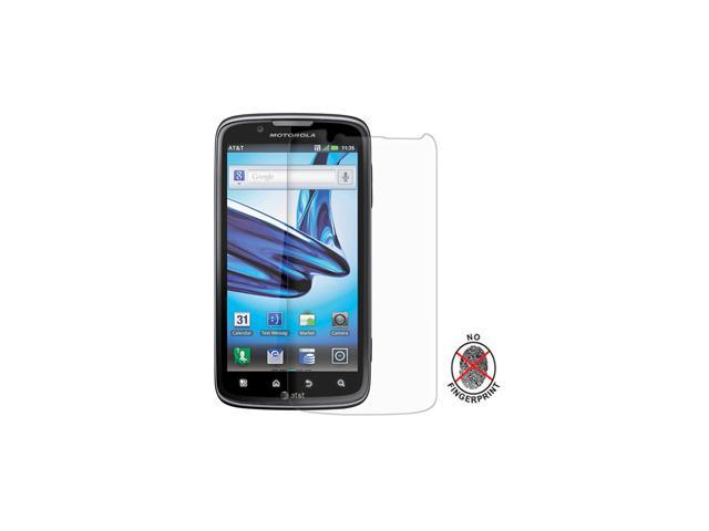 Amzer Anti-Glare Screen Protector with Cleaning Cloth for Motorola ATRIX 2 MB865