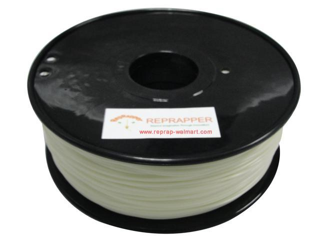RepRapper ABS 1.75mm 3D Printer Filament  Compatible with Makerbot/ Afinia/ UP/ Solidoodle/ NewStarWay Color Glow in the ...