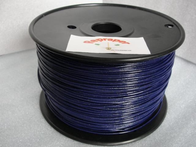 RepRapper ABS 1.75mm 3D Printer Filament  Compatible with Makerbot/ Afinia/ UP/ Solidoodle/ NewStarWay Color Galaxy Blue