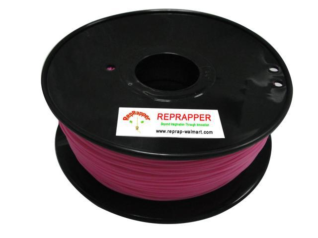 RepRapper PLA 1.75mm 3D Printer Filament  Compatible with Makerbot/ Afinia/ UP/ Solidoodle/ NewStarWay Color Pink