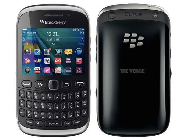 BlackBerry Curve 9320 Black Unlocked GSM OS 7 Cell Phone