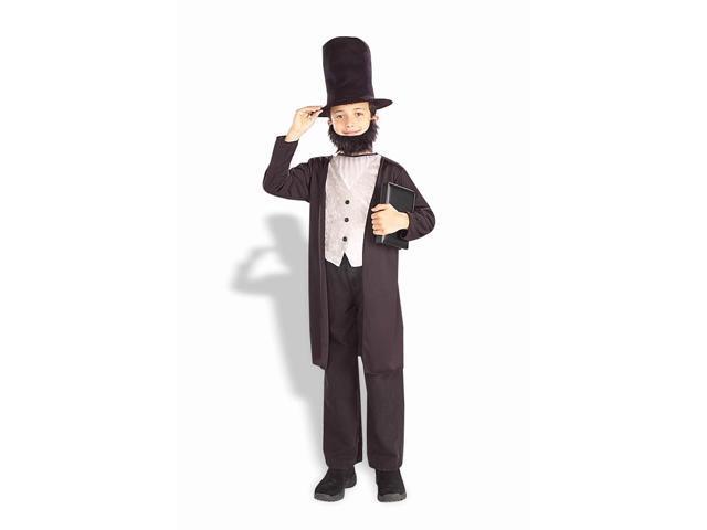 Abraham Lincoln  4pc Child Costume