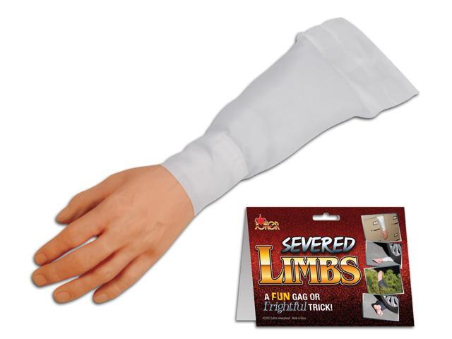 Joker Surprising Realistic Severed Arm Decoration Prop, White