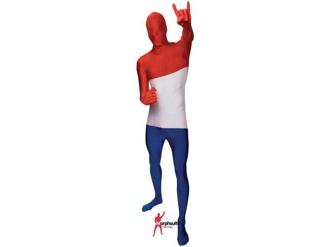 Original Morphsuits Netherlands Flag Adult Suit Character Morphsuit X-Large