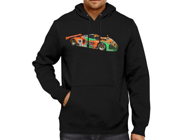 Mazda 787B Le Man Race Car Sketch Unisex Hooded Sweater Fleece Pullover Hoodie