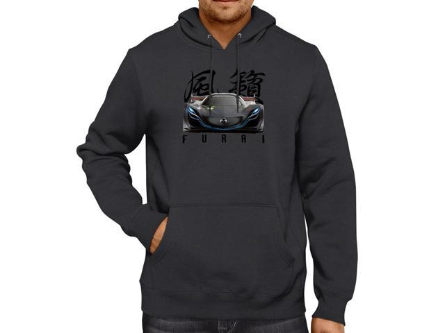 Mazda Furai Concept Car Unisex Hooded Sweater Fleece Pullover Hoodie
