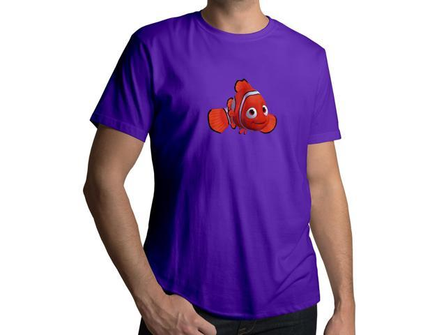 Men's Finding Dory Nemo Clownfish Disney Pixar 100% Cotton Crew Neck T-Shirt