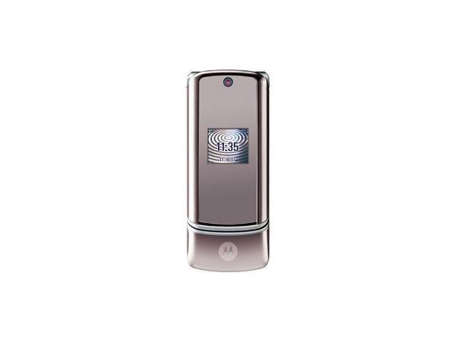 Motorola KRZR K1 Unlocked Phone (Silver/Gray)