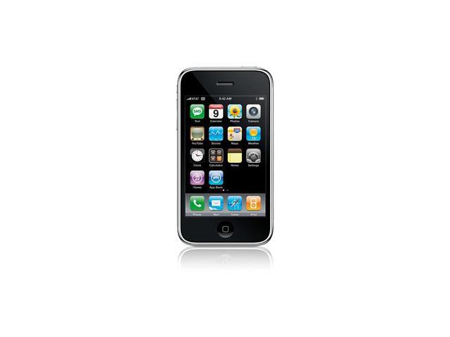 Unlocked iPhone 3G 8GB Black AT&T Apple