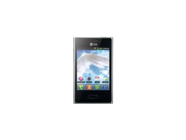 LG Optimus L3 E400 GSM Unlocked Android Phone (Black)