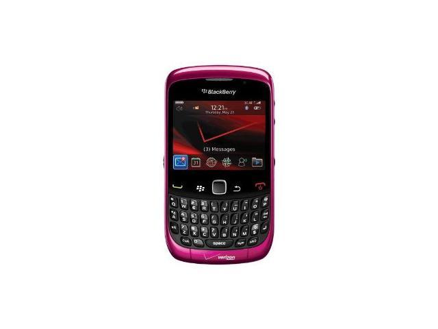 Blakcberry 9330 Curve 3G Verizon Wireless Page Plus - Pink Fuchsia