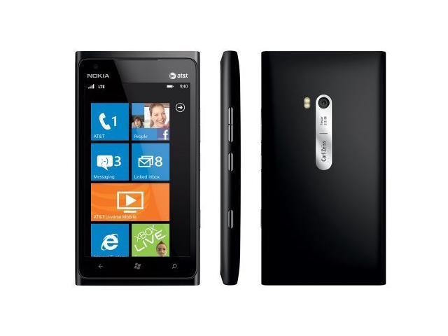 Nokia Lumia 900 Matte Black Unlocked At&t 16GB GSM Windows Smartphone