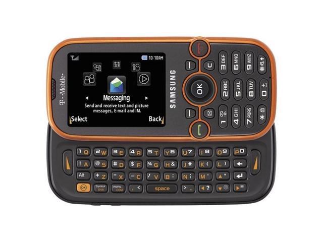 Unlocked Samsung SGH T469 Gravity 2 II Phone Orange