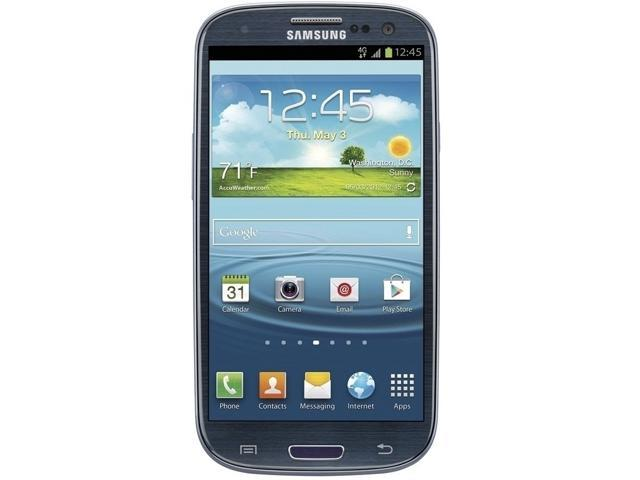 Samsung Galaxy S3 T999 Blue 3G Dual-Core 1.5GHz GSM Unlocked Cell Phone
