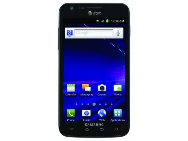 Samsung Galaxy SII Skyrocket i727 GSM Unlocked Android Smartphone - Black