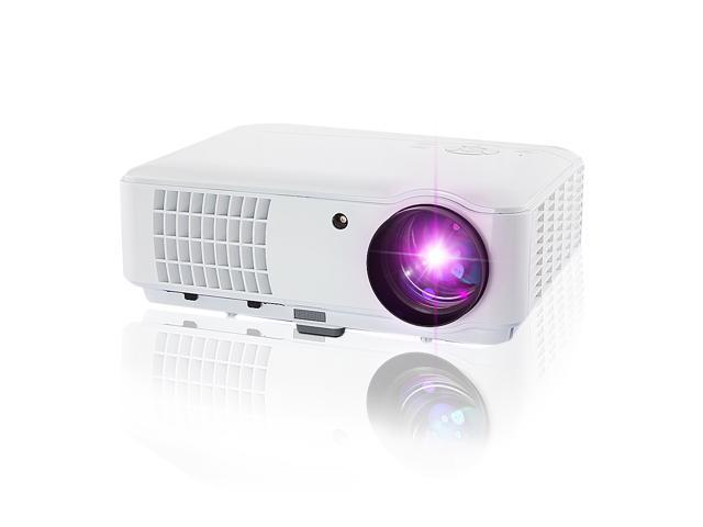 Brand New HD 1080P 2600 lumens LED LCD Video Projector Home Theatre 2*HDMI 2*USB VGA for Laptop DVD Player PS3 Wii,with AV+VGA Cable, Quite( Noise less than 15 db), 150W Lamp,50,000 Hours Lamp Life