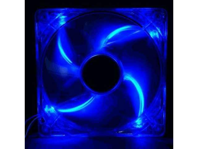 Yate Loon 120mm UV Blue Cooling Fan 4 LED D12SL-124UB