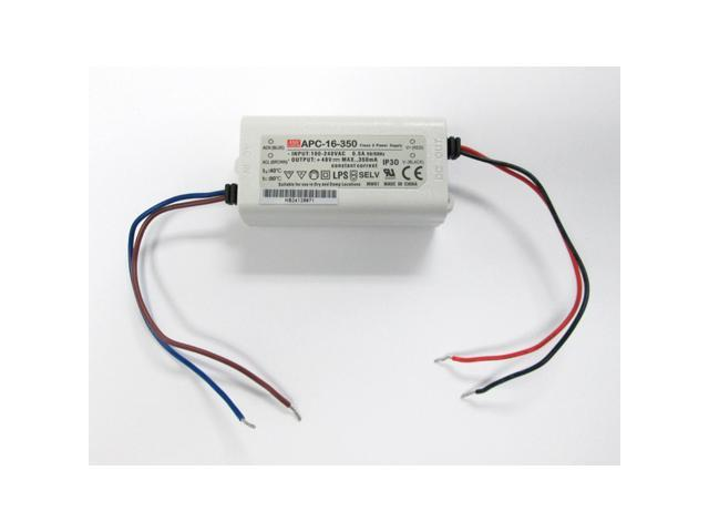 Mean Well APC-16-350 Constant Current LED Power Supply - OEM
