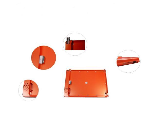 SmartPower Pack - iPad2/new iPad power bank doubles as protective cover and Sound Amplifier (ORANGE)