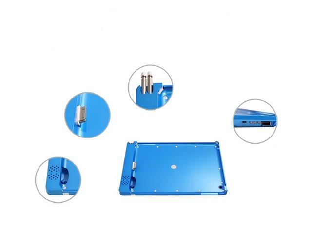 SmartPower Pack - iPad2/new iPad power bank doubles as protective cover and Sound Amplifier (BLUE)