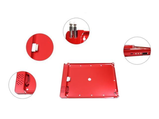 SmartPower Pack - iPad2/new iPad power bank doubles as protective cover and Sound Amplifier (RED)