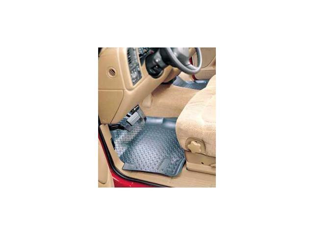 Front Floor Liner-GMC Jimmy S-15 1995-2006-Grey-2-Door 4-Wheel Drive