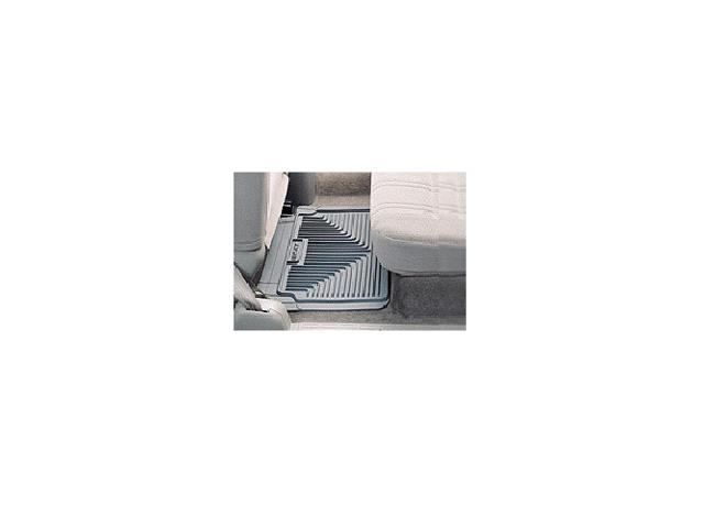 Rear Floor Mats - Semi Custom-Oldsmobile Aurora 1995-2003-Grey-2 PC Set