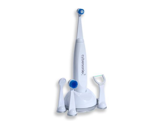 Cybersonic3 S117-C4V Complete Sonic Toothbrush System