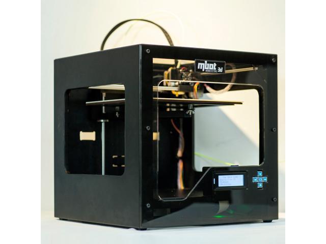 MBot 3D Printer, Cube II, 260x230x200mm, 0.1-0.3mm, Dual Head, Cool Metal Case Assembled.