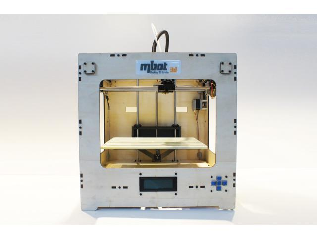 MBot 3D Printers,Cube Plywood,Single Head ,200x200x200mm,0.1-0.3mm,Wood Case Assembled