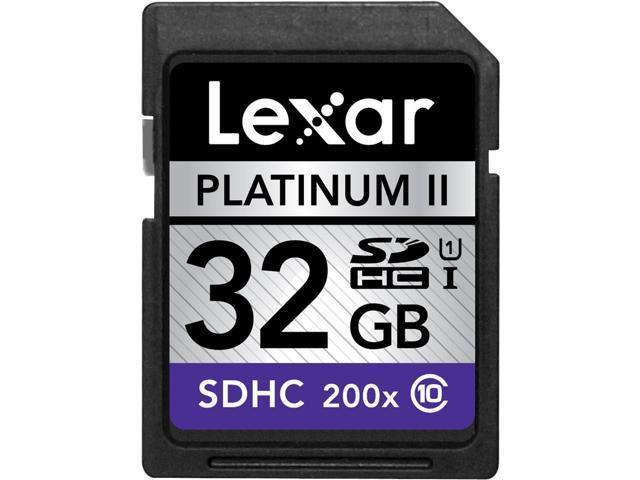 Lexar 32GB Secure Digital High-Capacity (SDHC) Class 10/UHS-I High-Speed Card Model KSD32GHSBNA200