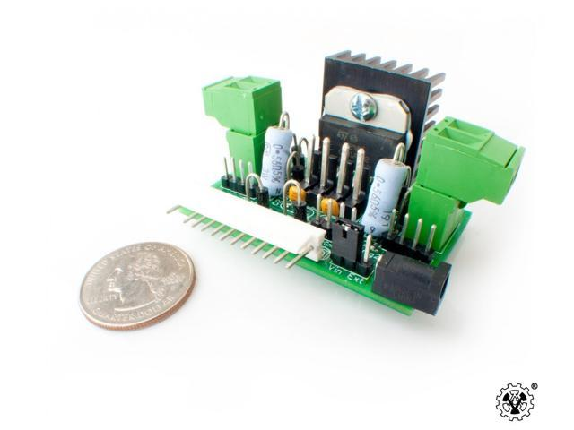 Versalino MotorMaster 2A, 3.5V to 16V fully assembled dual DC and single bipolar stepper motor driver for the Versalino. ...