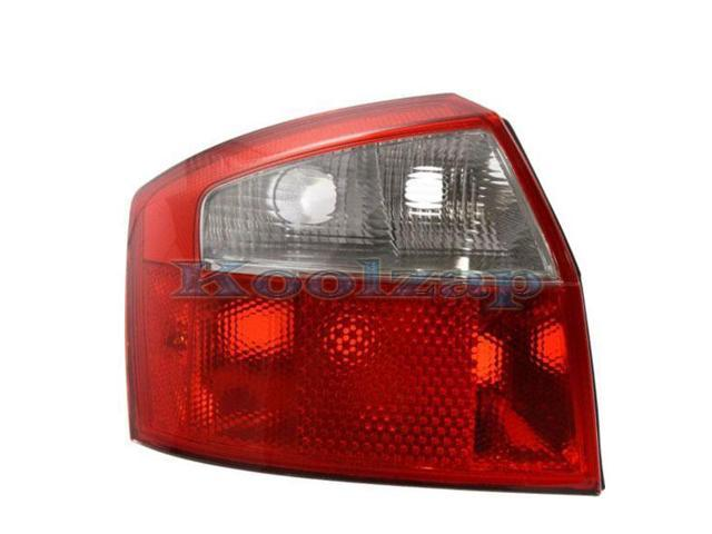 2002 2003 2004 2005 audi a4 s4 sedan 4 door taillight taillamp rear brake tail light lamp left. Black Bedroom Furniture Sets. Home Design Ideas