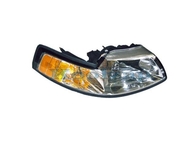 1999 2000 2001 2002 2003 2004 Ford Mustang Front Halogen