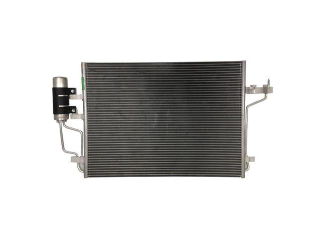 Fits 2013-2014 Ford Escape 2.0L L4 Air Condition A/C Cooling Parallel Flow AC Condenser Assembly with Receiver/Drier (13 14)